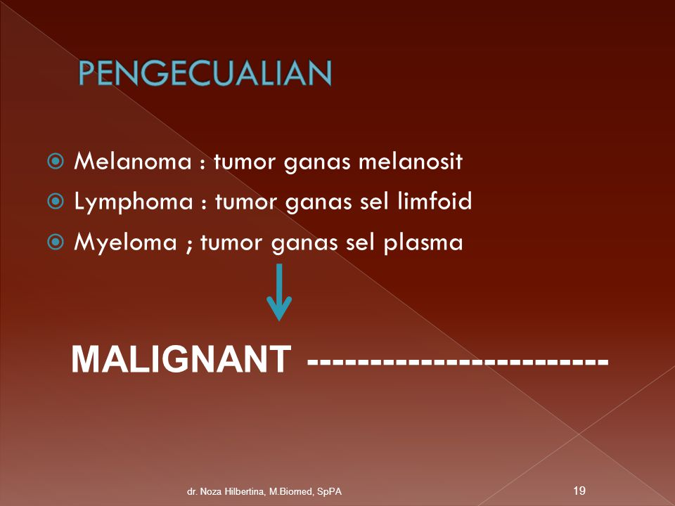 PENGECUALIAN MALIGNANT ------------------------