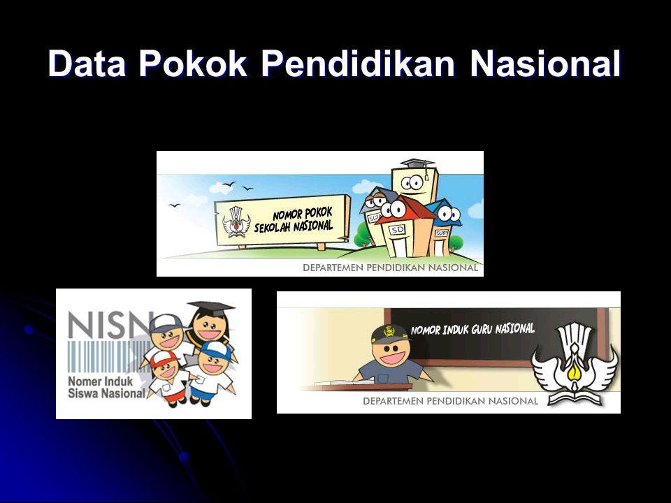Data Pokok Pendidikan Nasional