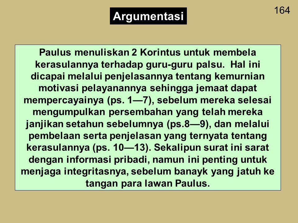 164 Argumentasi.