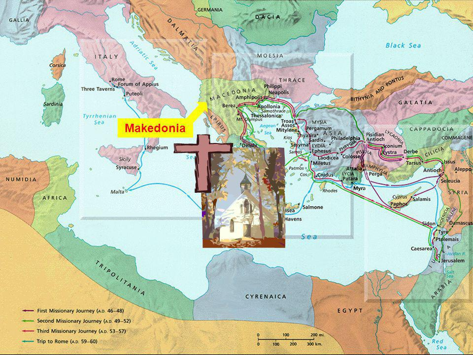 Geography Makedonia Corinth
