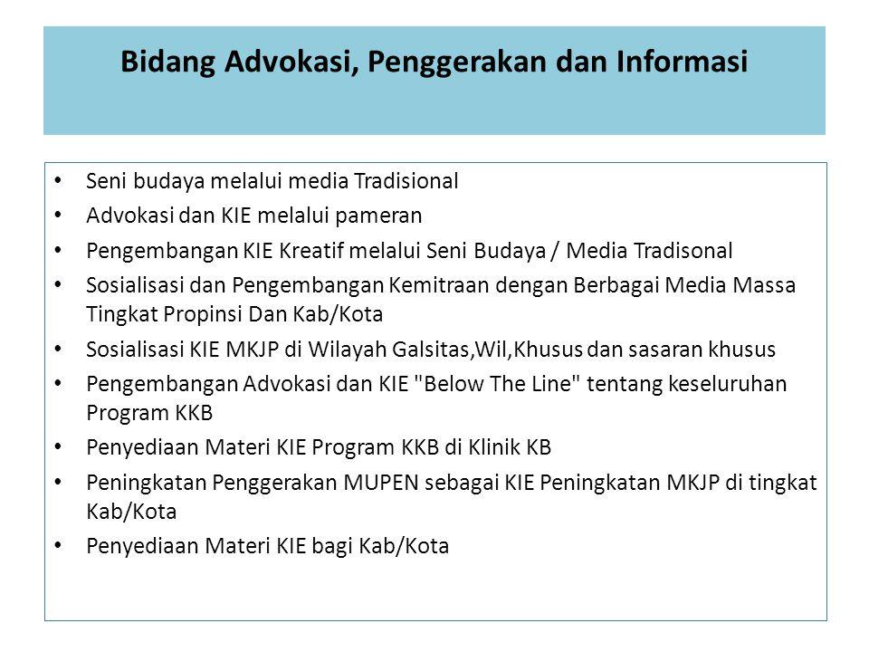 Bidang Advokasi, Penggerakan dan Informasi
