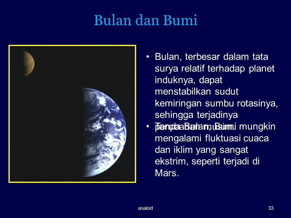 Bulan dan Bumi