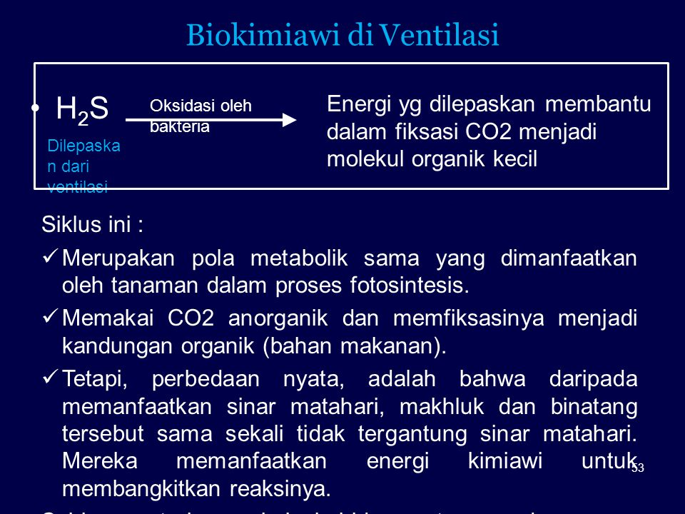 Biokimiawi di Ventilasi