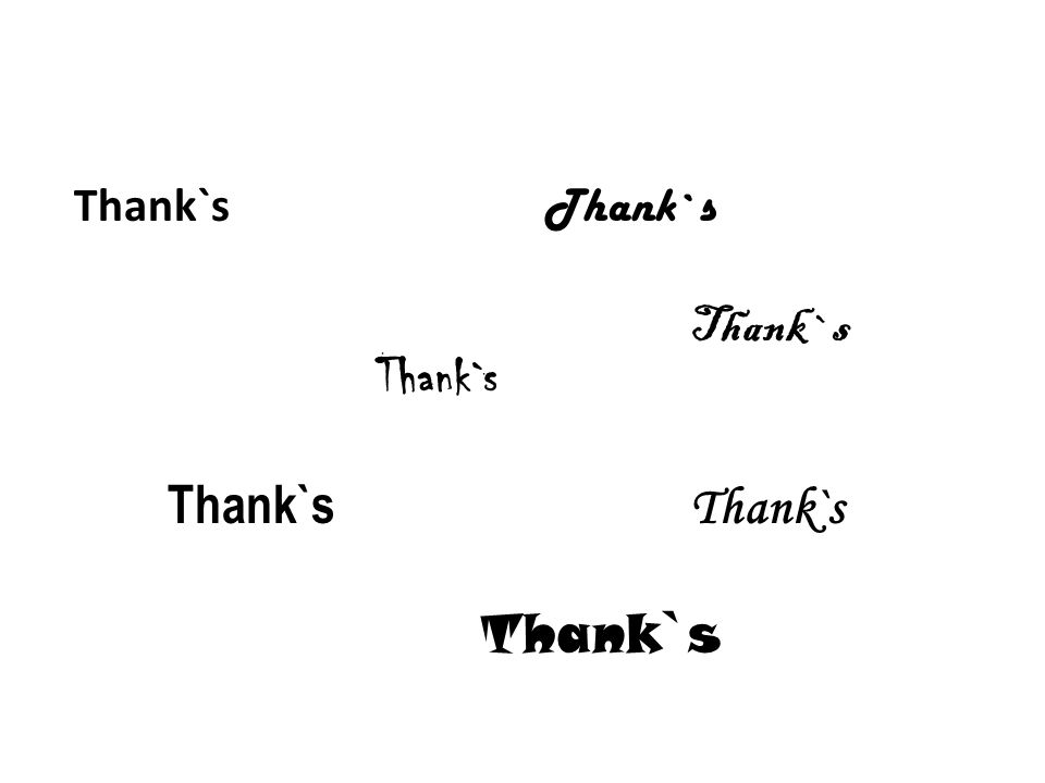 Thank`s Thank`s Thank`s Thank`s Thank`s