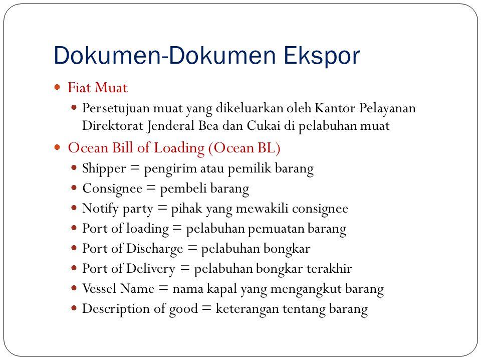 Dokumen-Dokumen Ekspor
