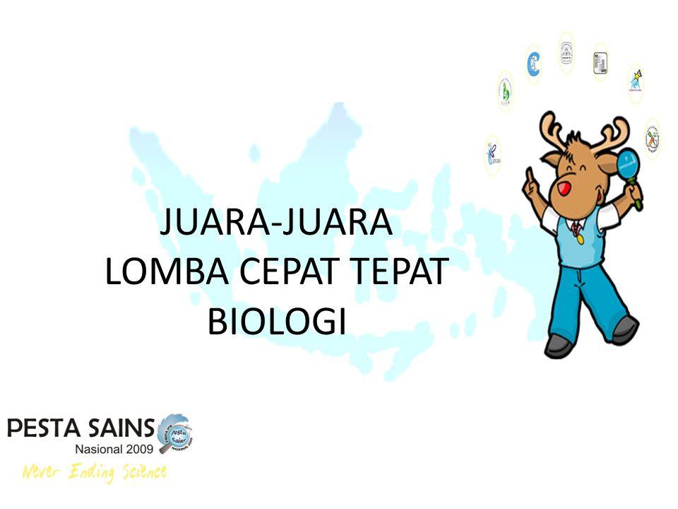 LOMBA CEPAT TEPAT BIOLOGI