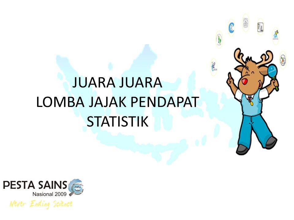 JUARA JUARA LOMBA JAJAK PENDAPAT STATISTIK
