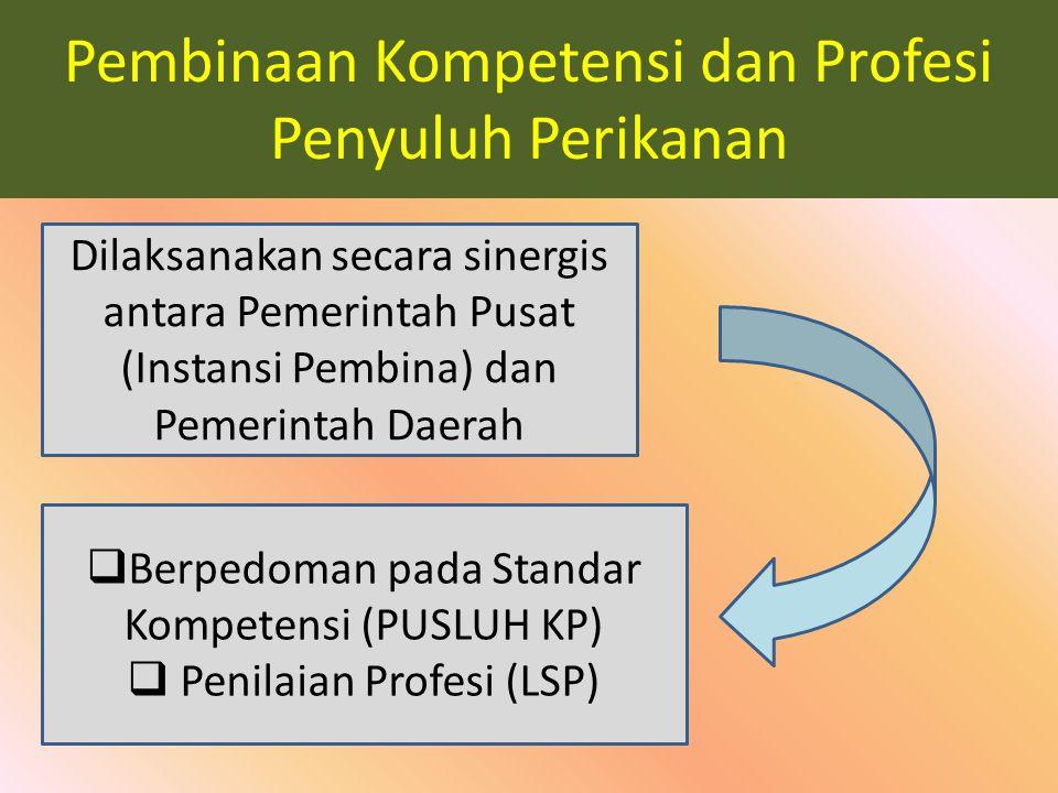 Pembinaan Kompetensi dan Profesi Penyuluh Perikanan