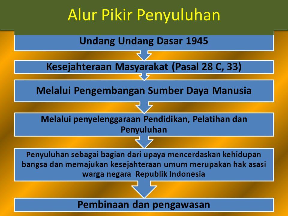Alur Pikir Penyuluhan Alur Pikir Penyuluhan Undang Undang Dasar 1945