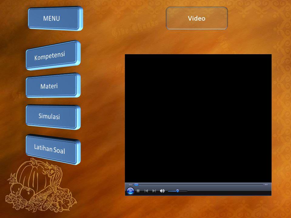MENU Video Simulasi Kompetensi Materi Latihan Soal