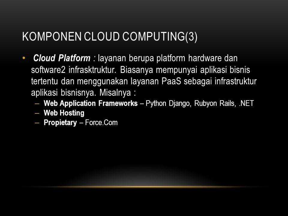 Komponen Cloud Computing(3)