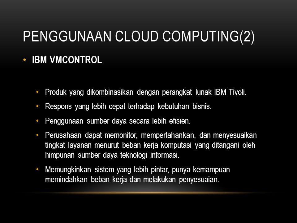 Penggunaan Cloud Computing(2)