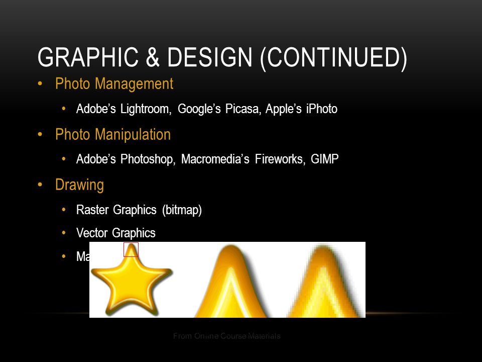 Graphic & Design (Continued)
