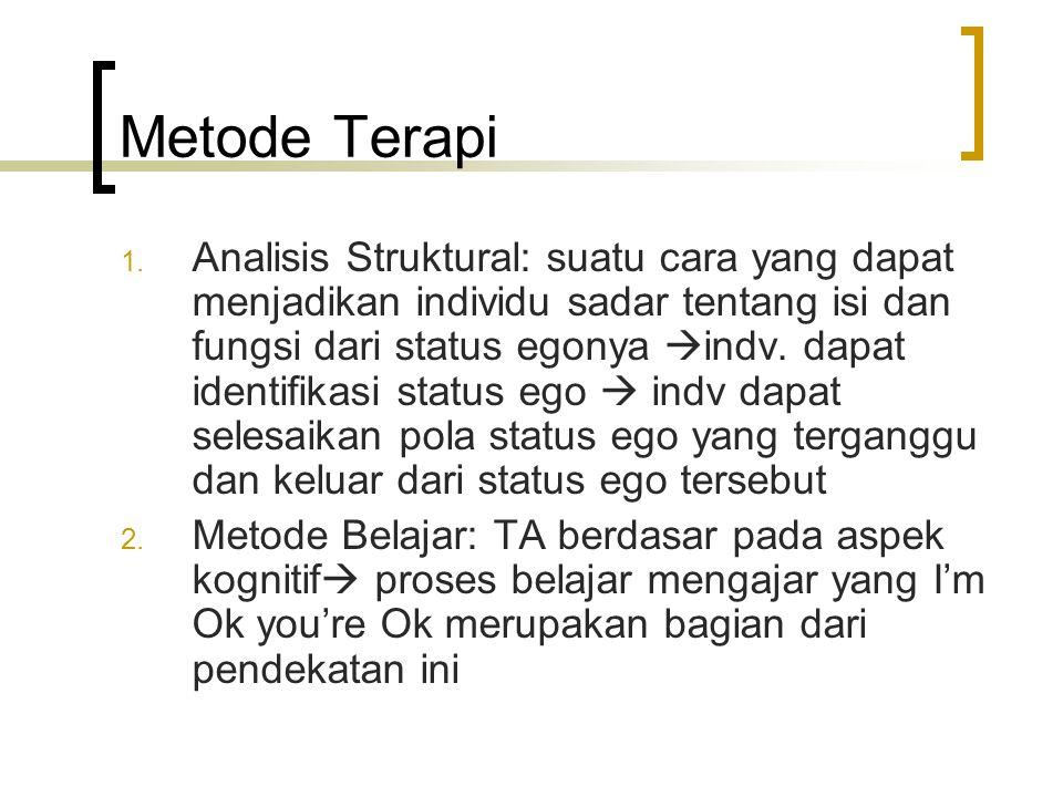 Metode Terapi