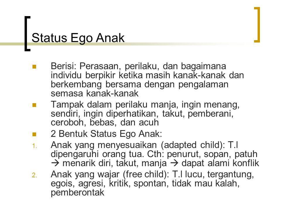 Status Ego Anak