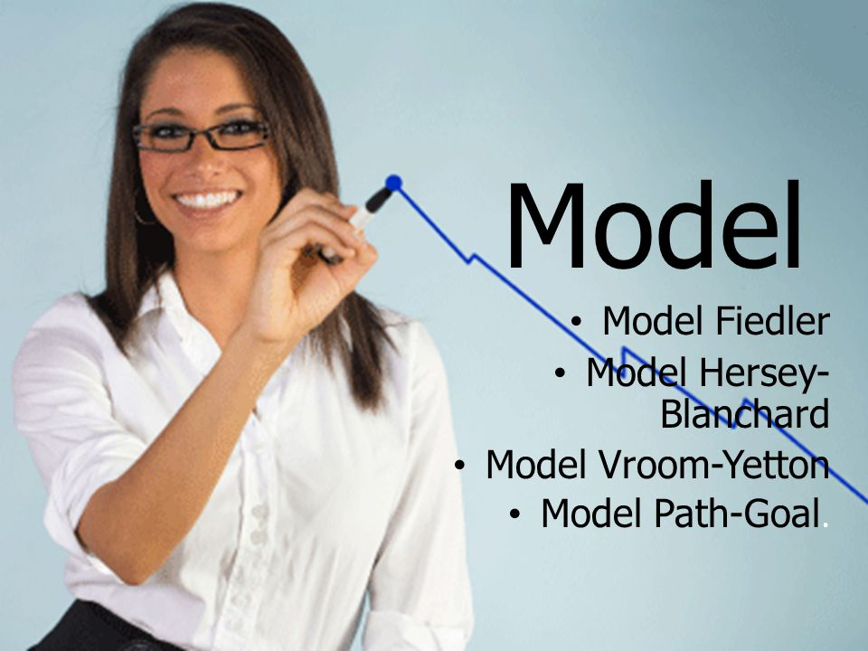 Model Model Fiedler Model Hersey-Blanchard Model Vroom-Yetton