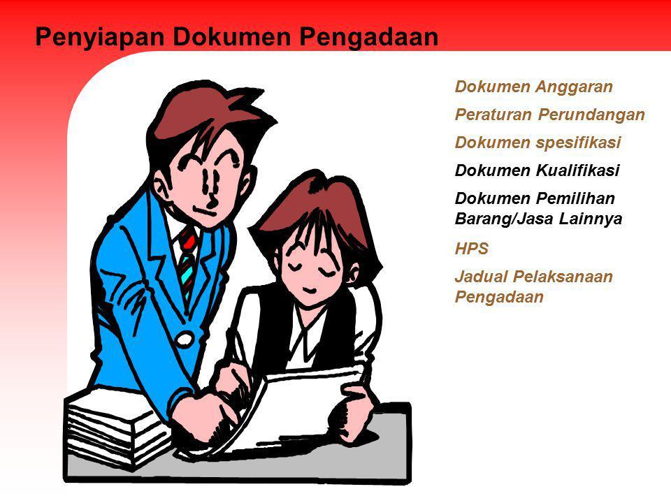 Penyiapan Dokumen Pengadaan