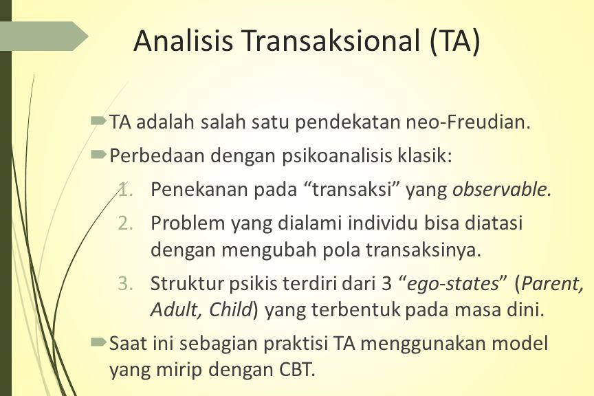 Analisis Transaksional (TA)