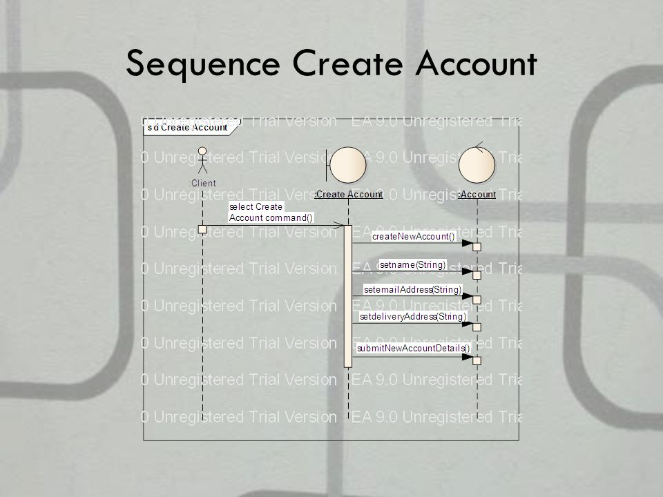 Sequence Create Account