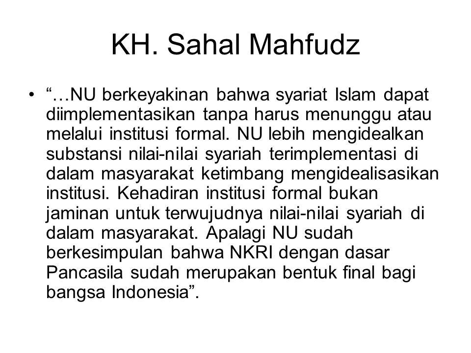 KH. Sahal Mahfudz