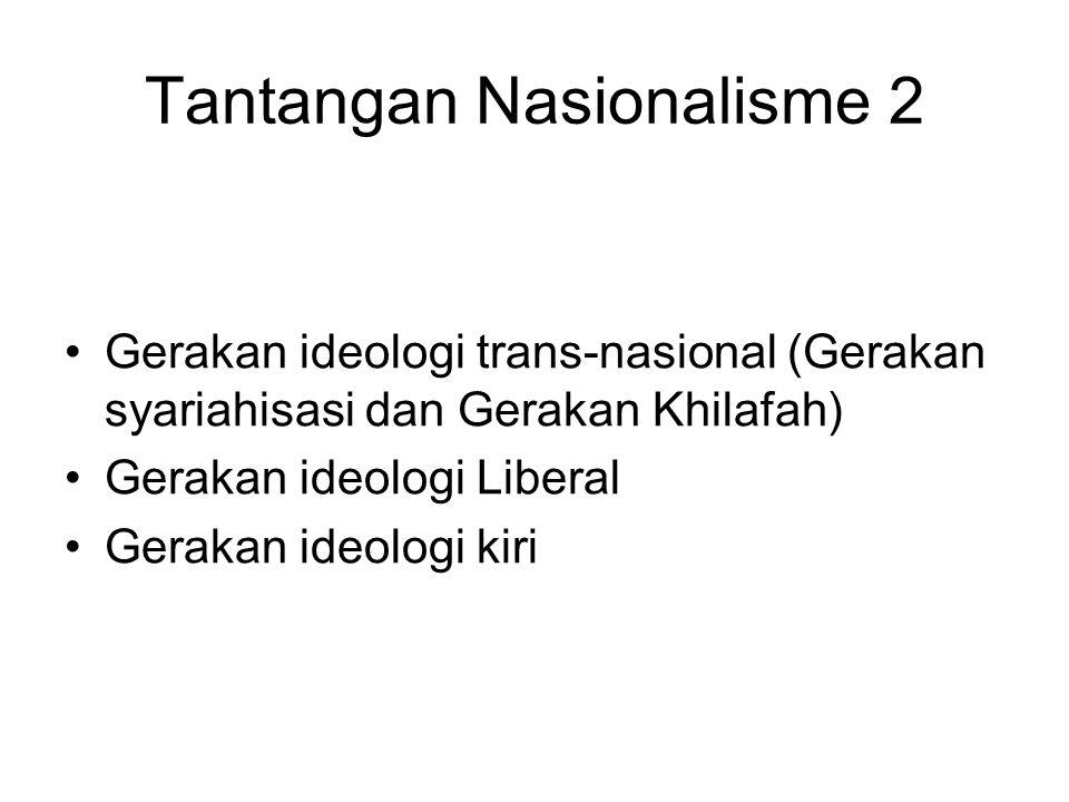 Tantangan Nasionalisme 2