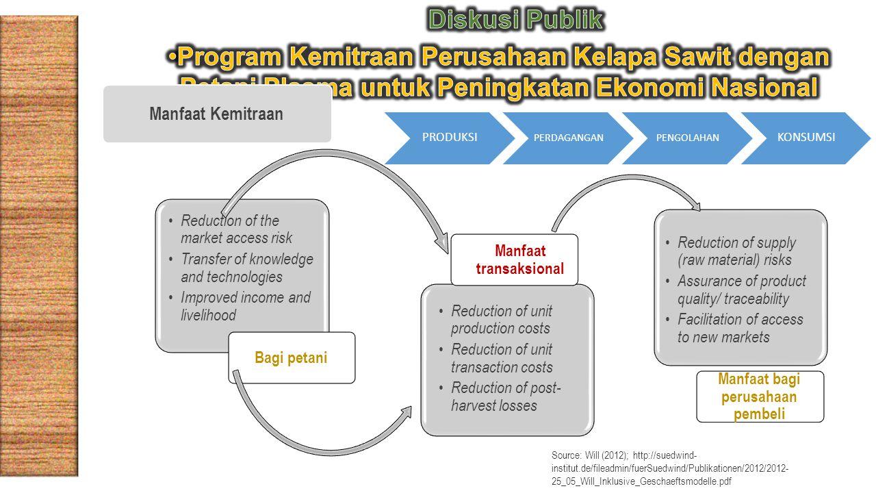 Manfaat transaksional Manfaat bagi perusahaan pembeli