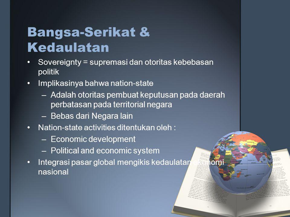 Bangsa-Serikat & Kedaulatan