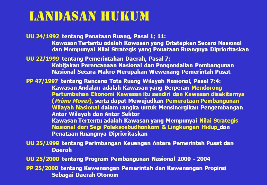 Landasan hukum UU 24/1992 tentang Penataan Ruang, Pasal 1; 11: