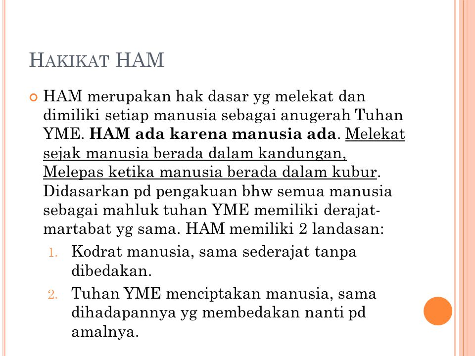 Hakikat HAM