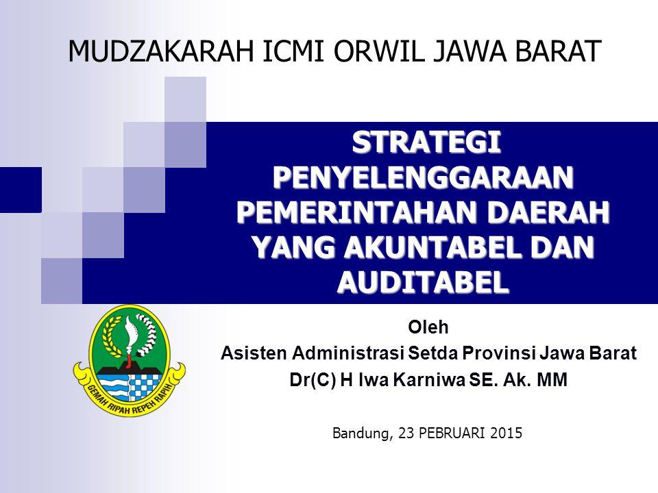 MUDZAKARAH ICMI ORWIL JAWA BARAT
