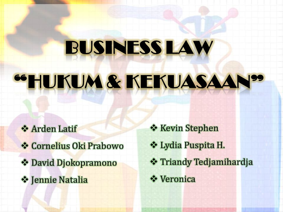BUSINESS LAW HUKUM & KEKUASAAN