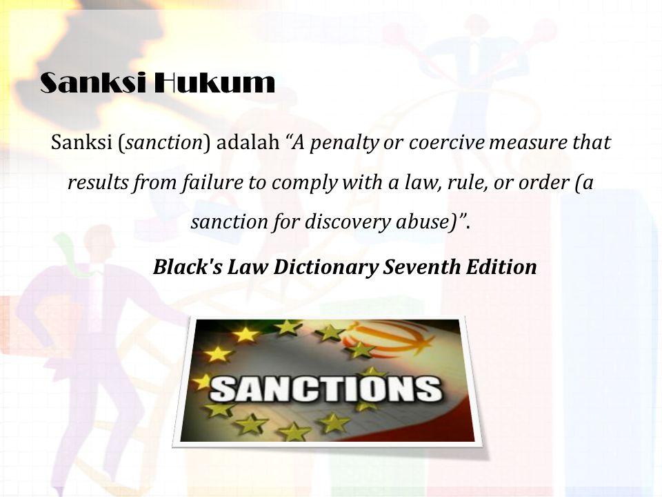 Sanksi Hukum