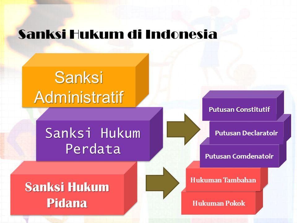 Sanksi Hukum di Indonesia