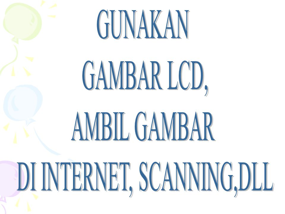 DI INTERNET, SCANNING,DLL