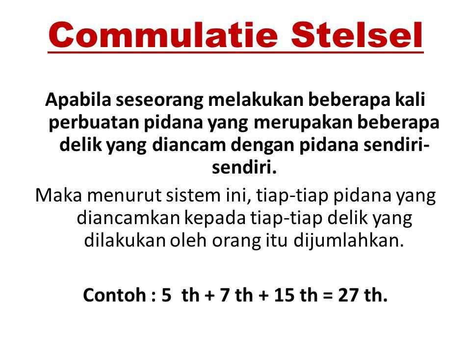 Commulatie Stelsel