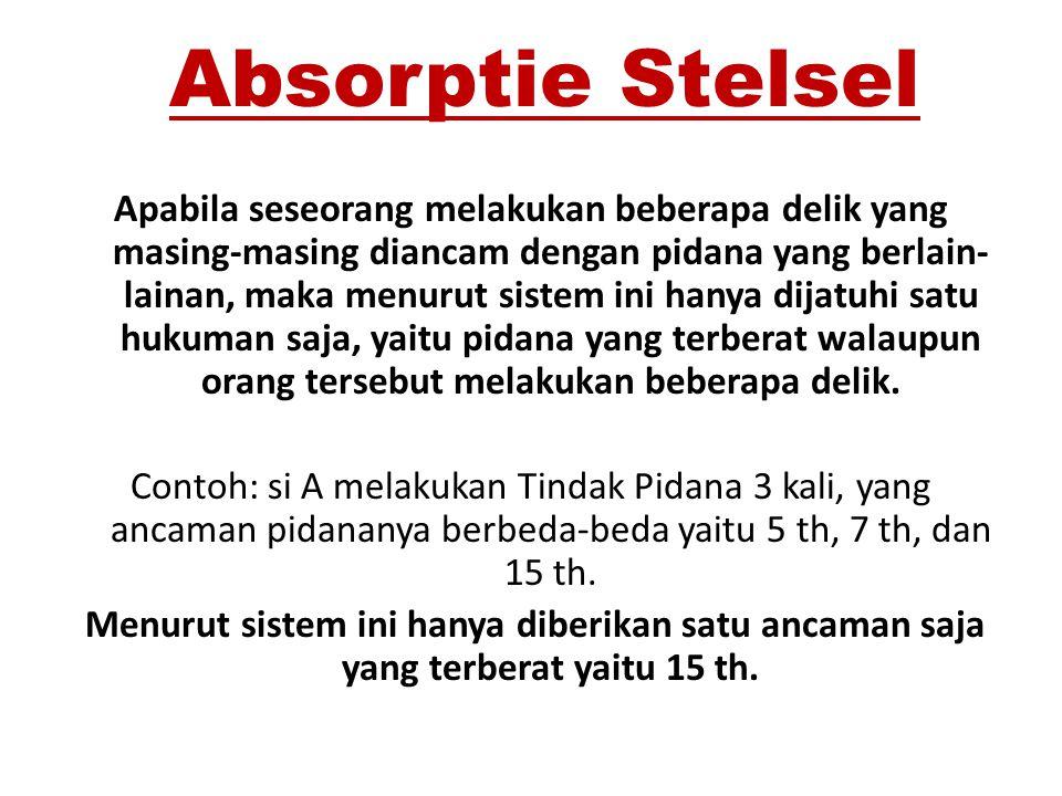 Absorptie Stelsel