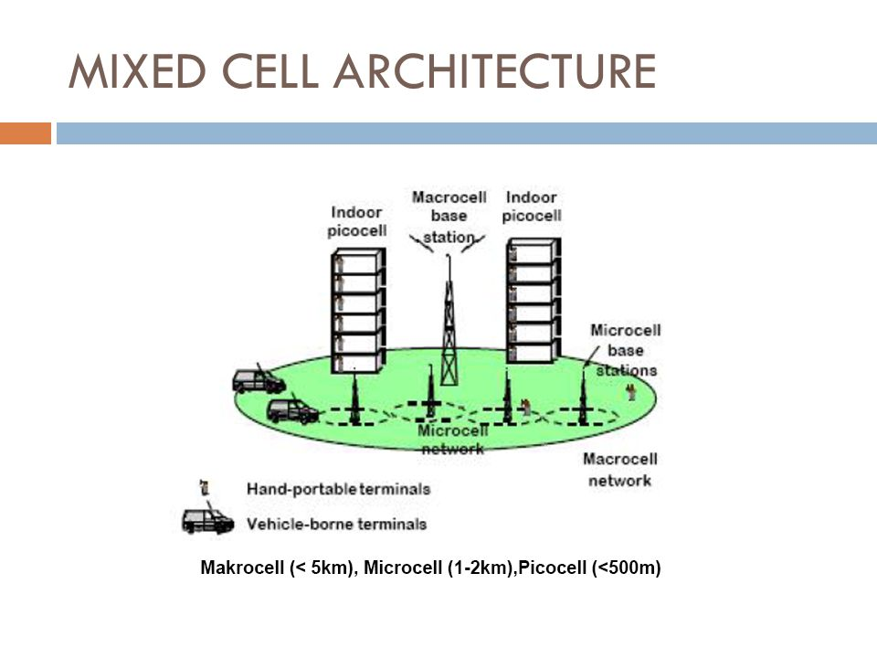 MIXED CELL ARCHITECTURE