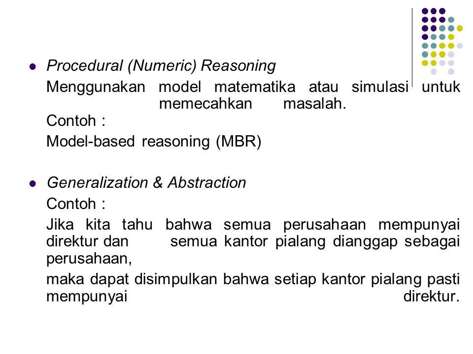 Procedural (Numeric) Reasoning