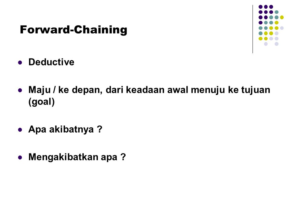 Forward-Chaining Deductive