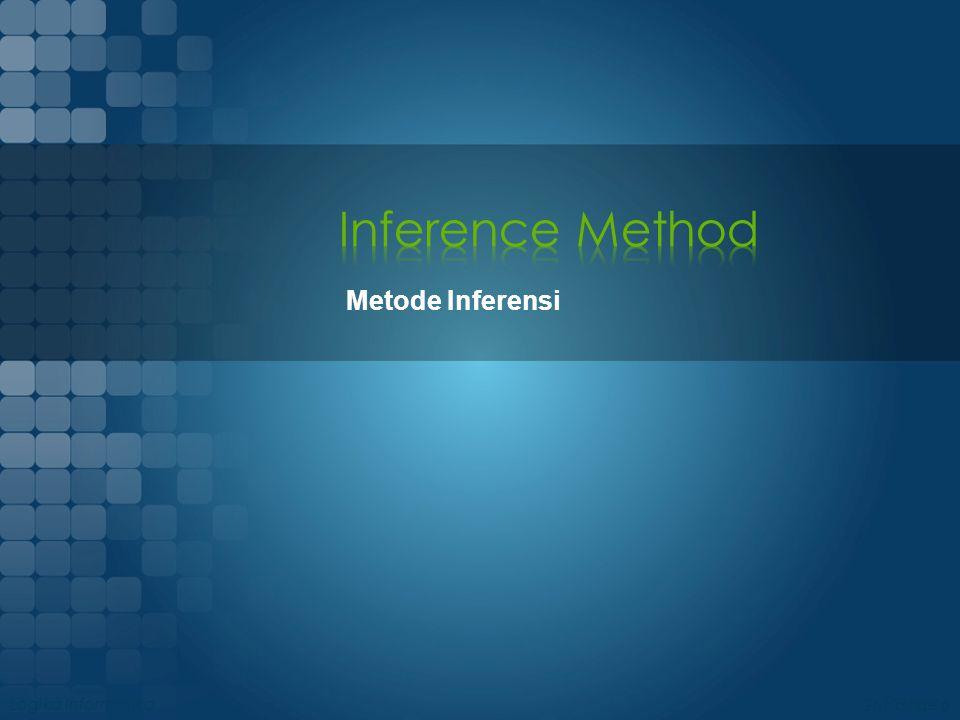 Inference Method Metode Inferensi Logika Informatika 08/04/2017