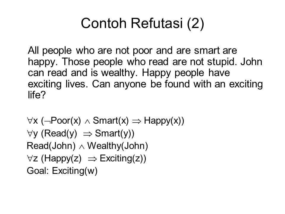 Contoh Refutasi (2)