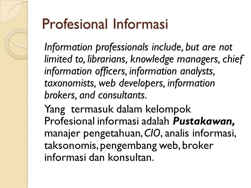Profesional Informasi
