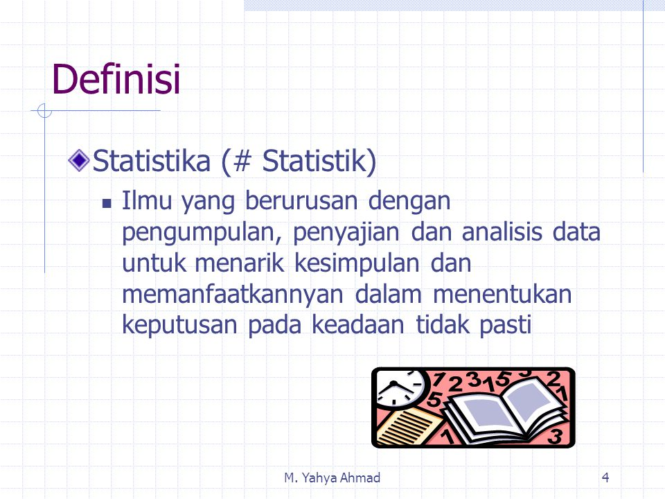 Definisi Statistika (# Statistik)