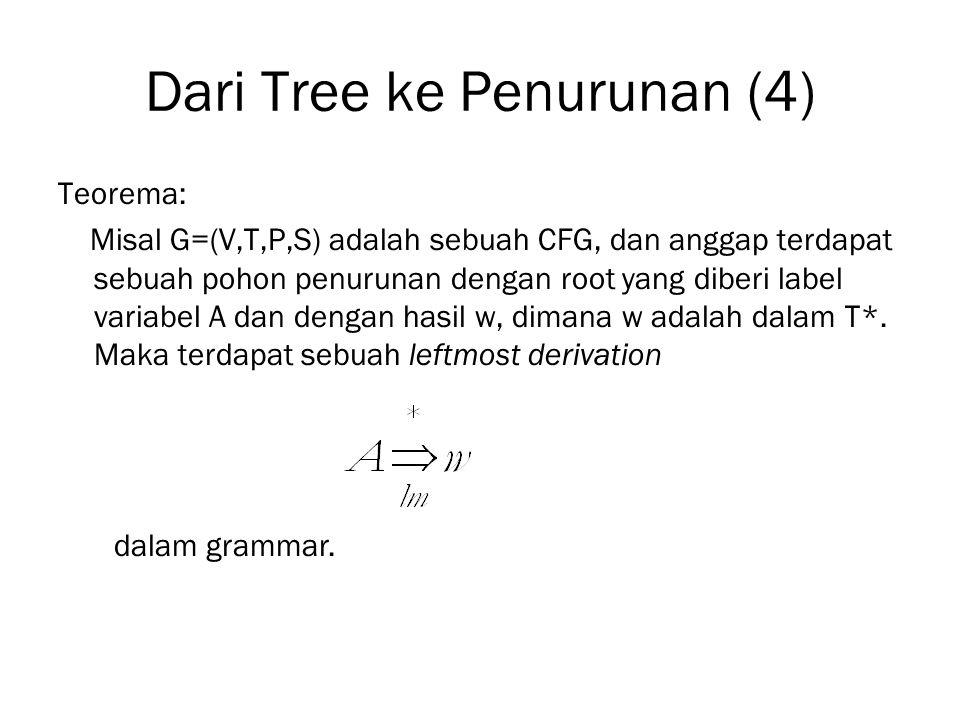 Dari Tree ke Penurunan (4)