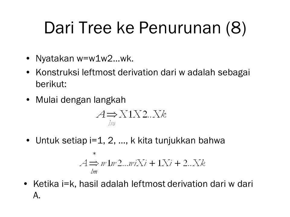 Dari Tree ke Penurunan (8)