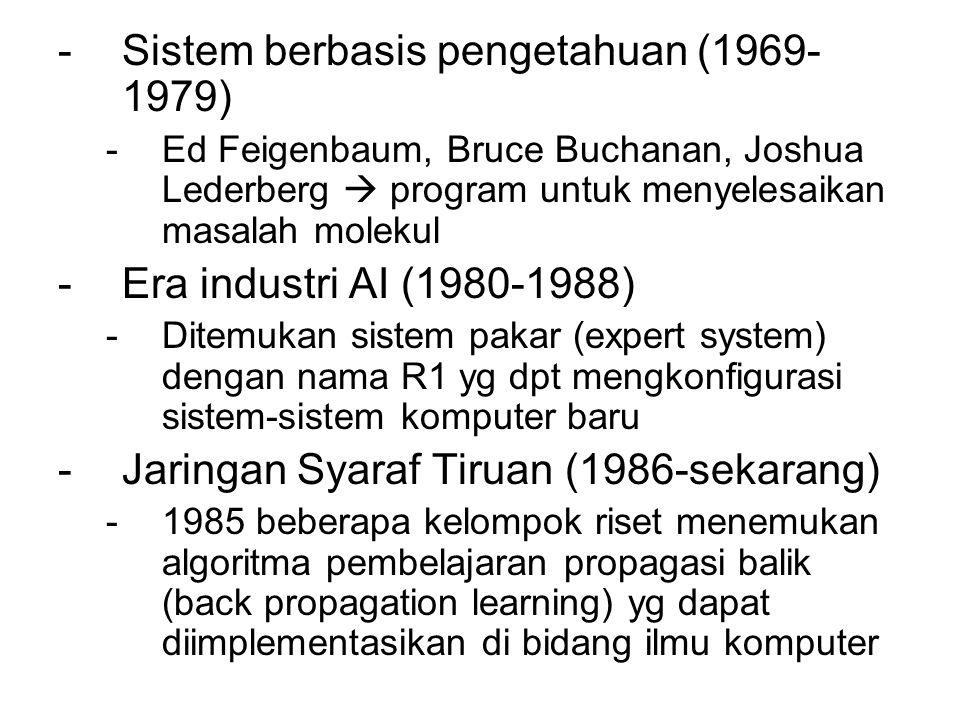 Sistem berbasis pengetahuan (1969-1979)