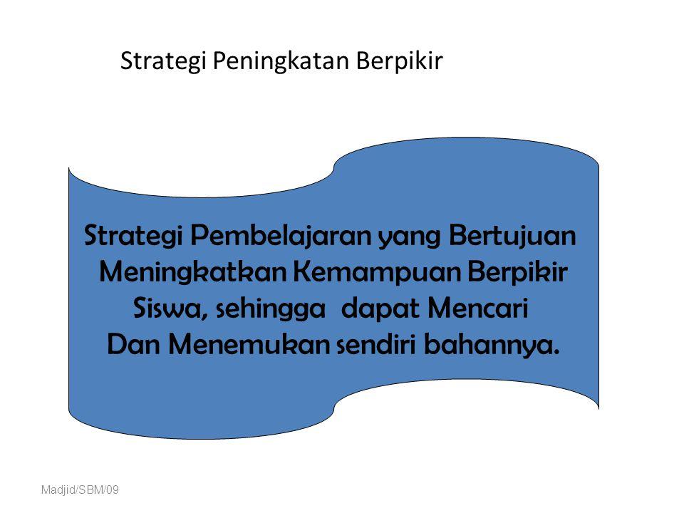 Strategi Peningkatan Berpikir