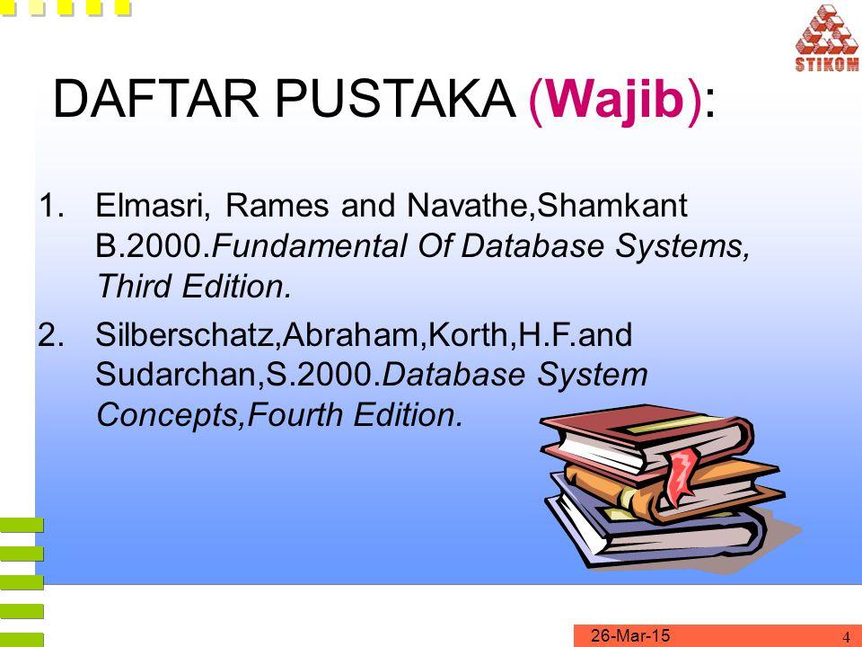 DAFTAR PUSTAKA (Wajib):