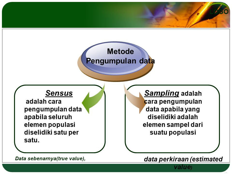 data perkiraan (estimated value)