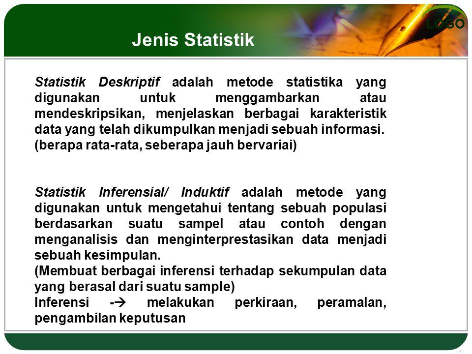 Jenis Statistik